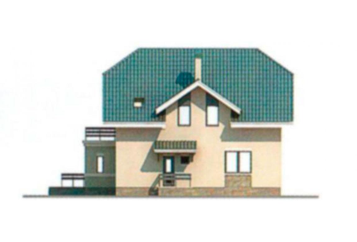 Проект дома из блоков АСД-1178 (uploads/gss/goods/178/big_5.jpg).