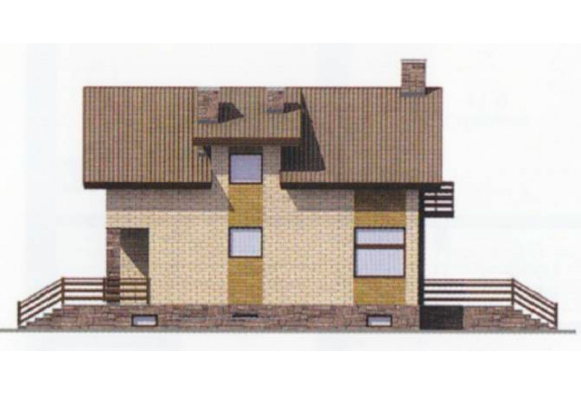 Проект дома из блоков АСД-1179 (uploads/gss/goods/179/big_2.jpg).