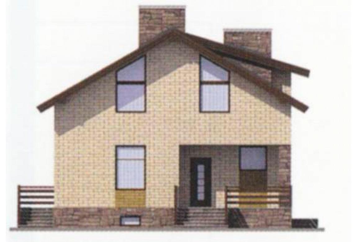 Проект дома из блоков АСД-1179 (uploads/gss/goods/179/big_3.jpg).