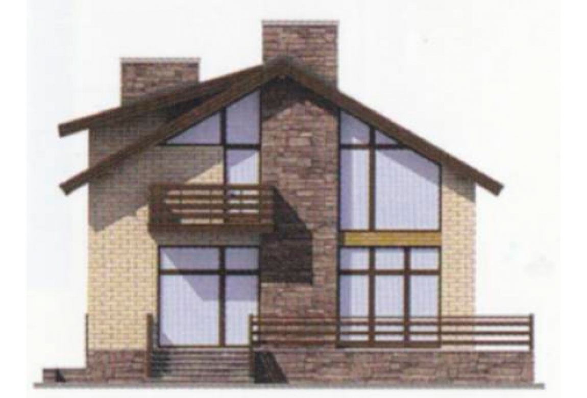 Проект дома из блоков АСД-1179 (uploads/gss/goods/179/big_5.jpg).