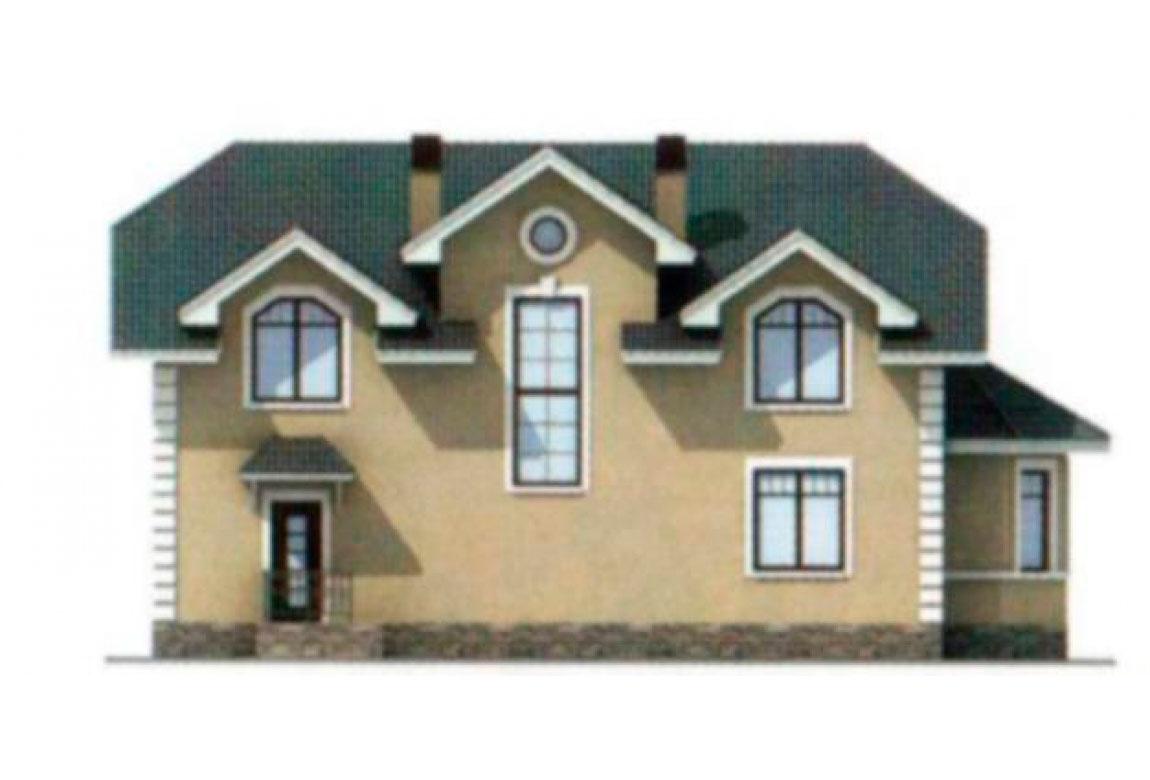 Проект дома из блоков АСД-1180 (uploads/gss/goods/180/big_3.jpg).