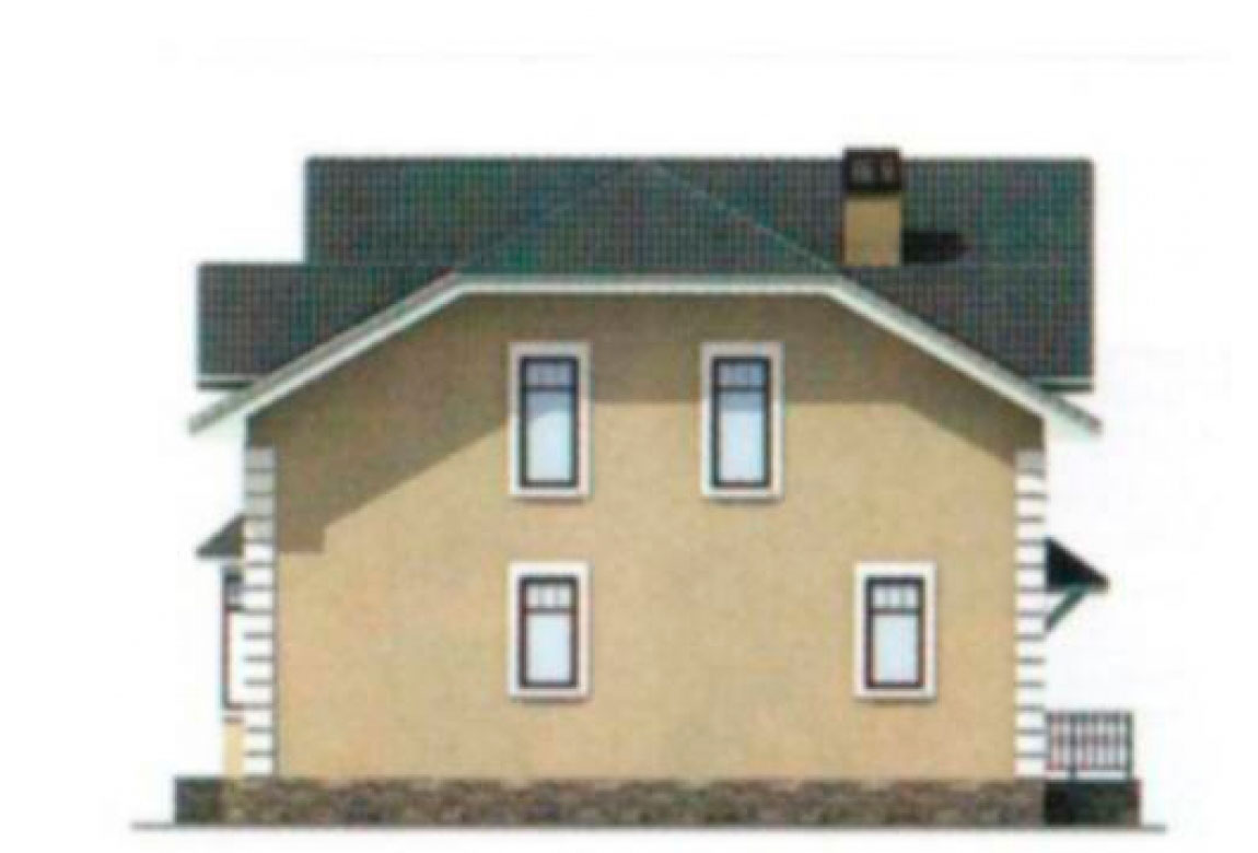 Проект дома из блоков АСД-1180 (uploads/gss/goods/180/big_4.jpg).