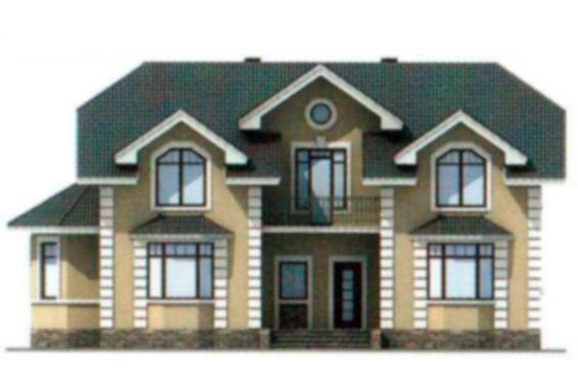 Проект дома из блоков АСД-1180 (uploads/gss/goods/180/big_5.jpg).