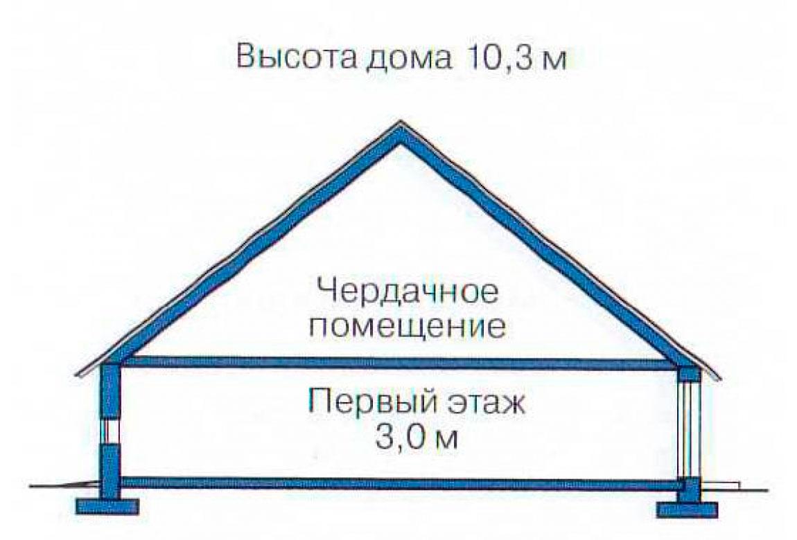 План N2 проекта дома из блоков АСД-1182