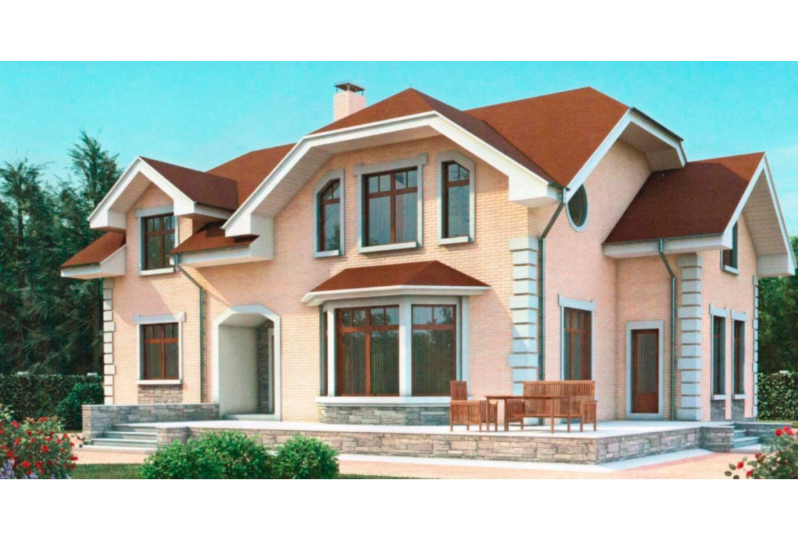 Проект дома из блоков АСД-1183 (uploads/gss/goods/183/big_1.jpg).