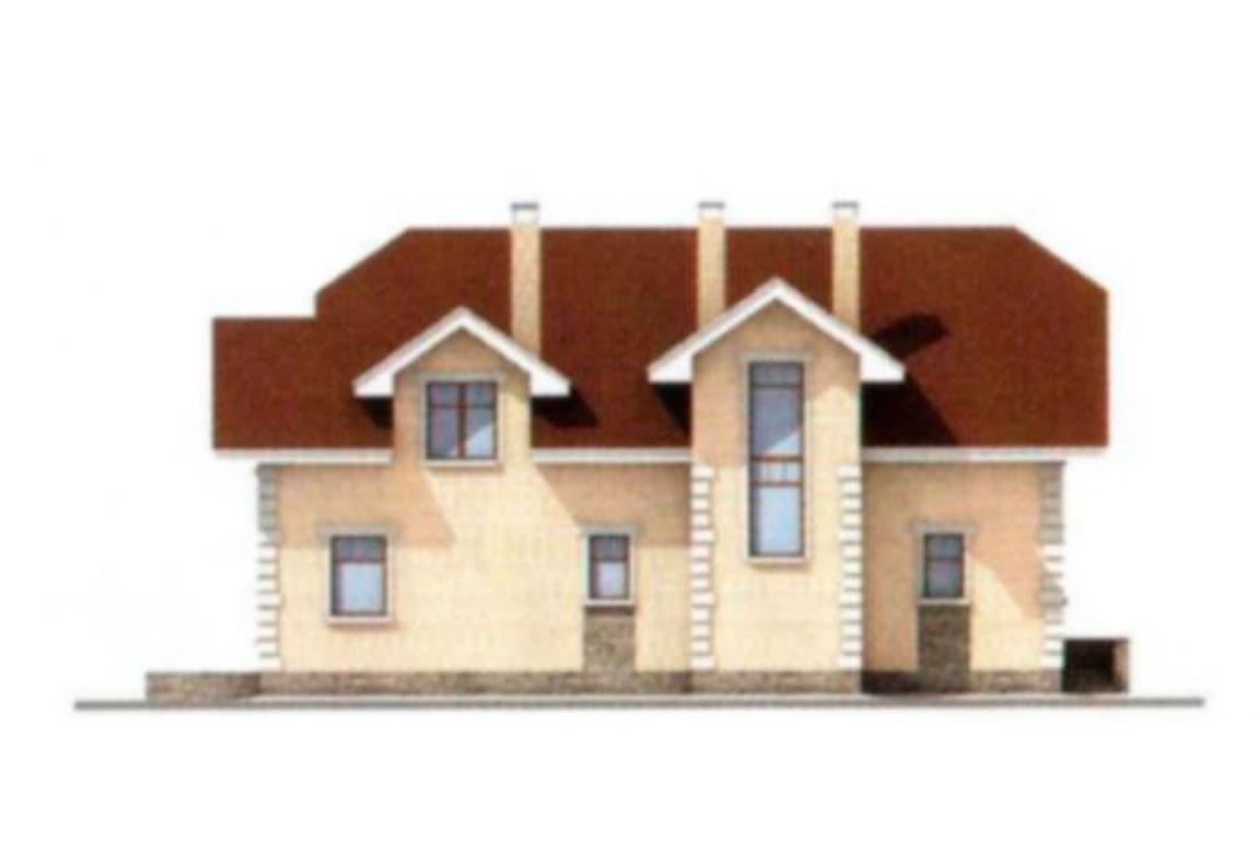 Проект дома из блоков АСД-1183 (uploads/gss/goods/183/big_3.jpg).
