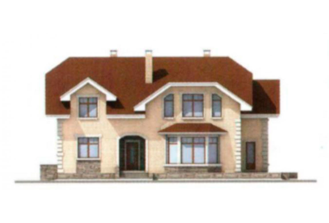 Проект дома из блоков АСД-1183 (uploads/gss/goods/183/big_5.jpg).