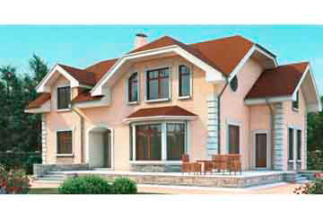 Проект дома из блоков АСД-1183