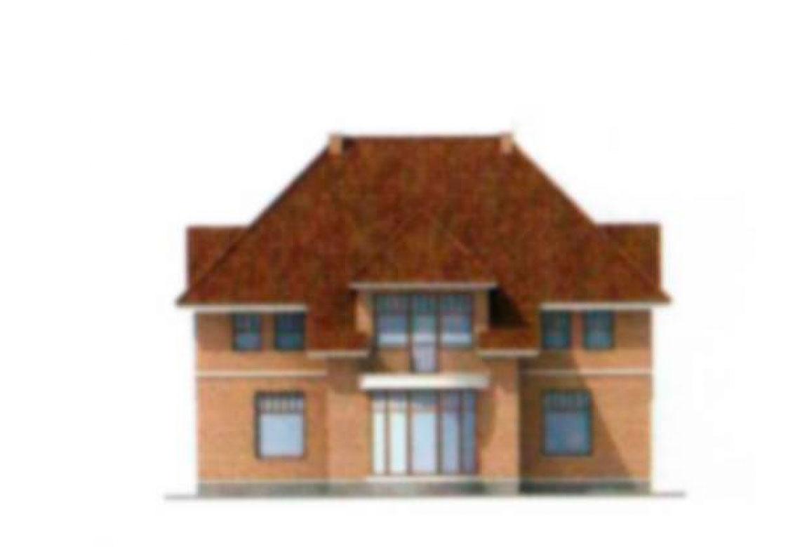 Проект дома из блоков АСД-1185 (uploads/gss/goods/185/big_3.jpg).