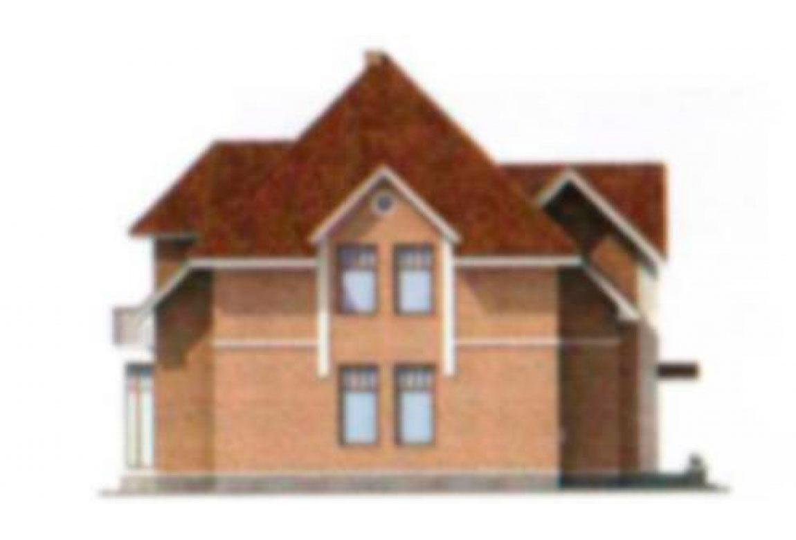 Проект дома из блоков АСД-1185 (uploads/gss/goods/185/big_4.jpg).