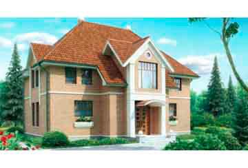 Проект дома из блоков АСД-1185