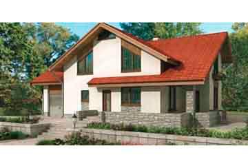 Проект дома из блоков АСД-1186