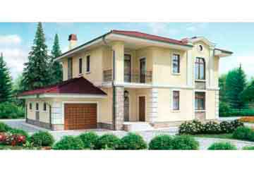 Проект дома из блоков АСД-1187