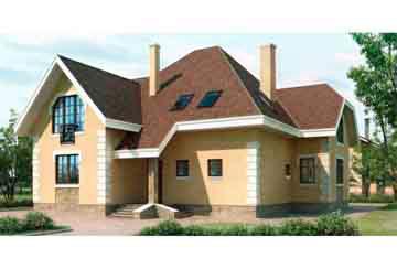 Проект дома из блоков АСД-1188