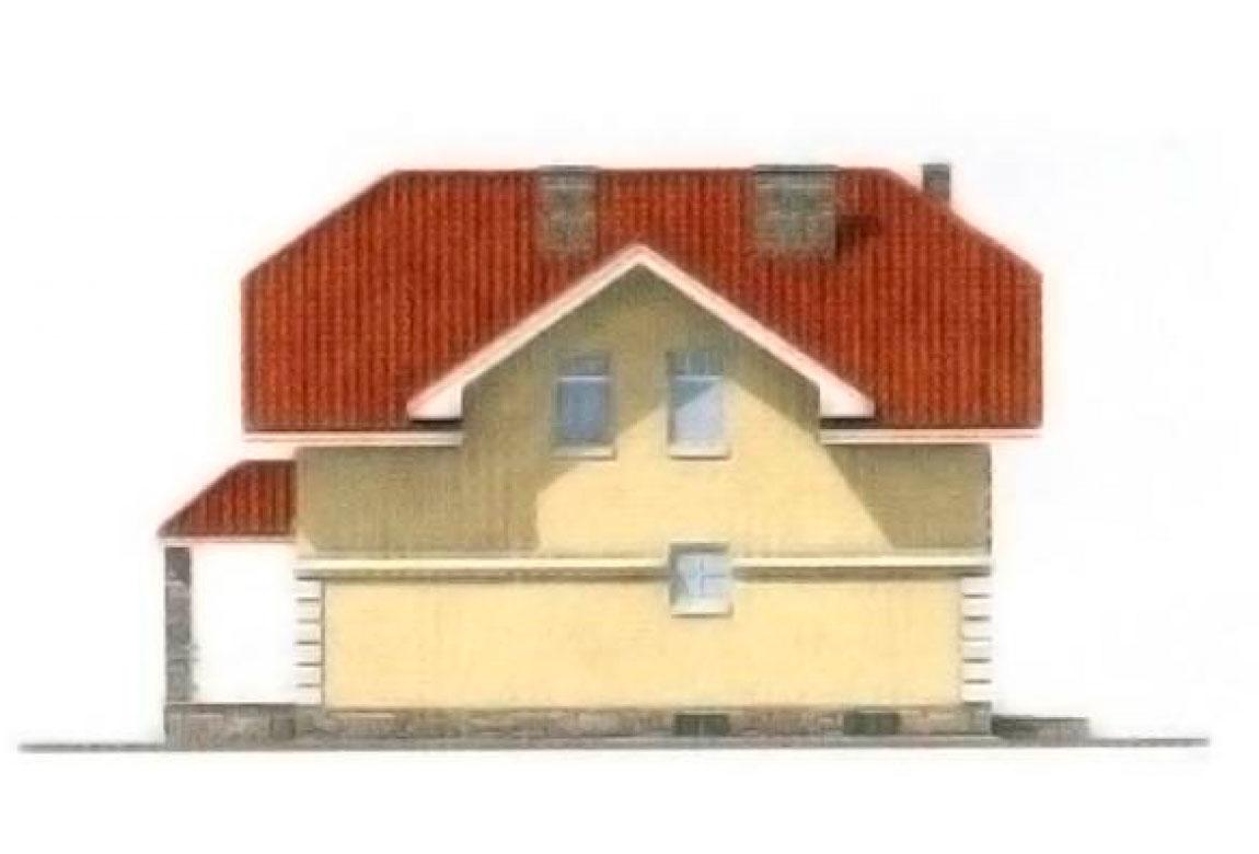 Проект дома из блоков АСД-1189 (uploads/gss/goods/189/big_4.jpg).