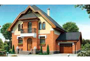 Проект кирпичного дома АСД-1019