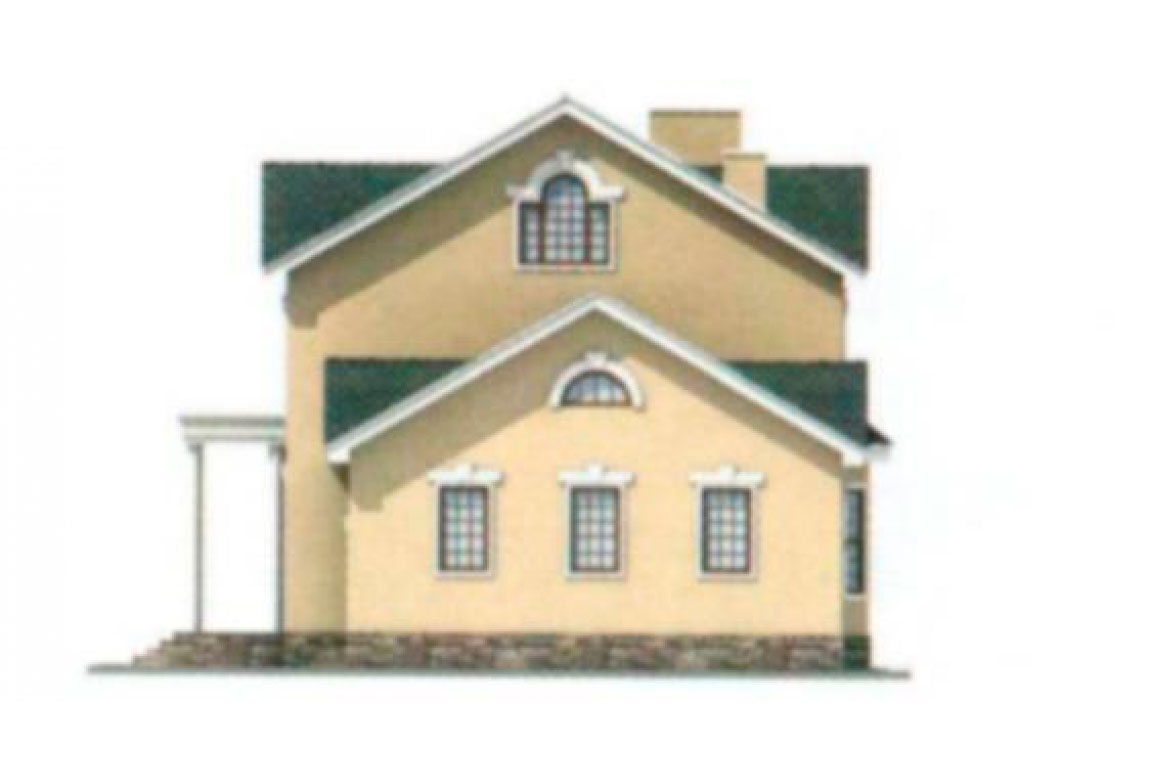 Проект дома из блоков АСД-1193 (uploads/gss/goods/193/big_2.jpg).