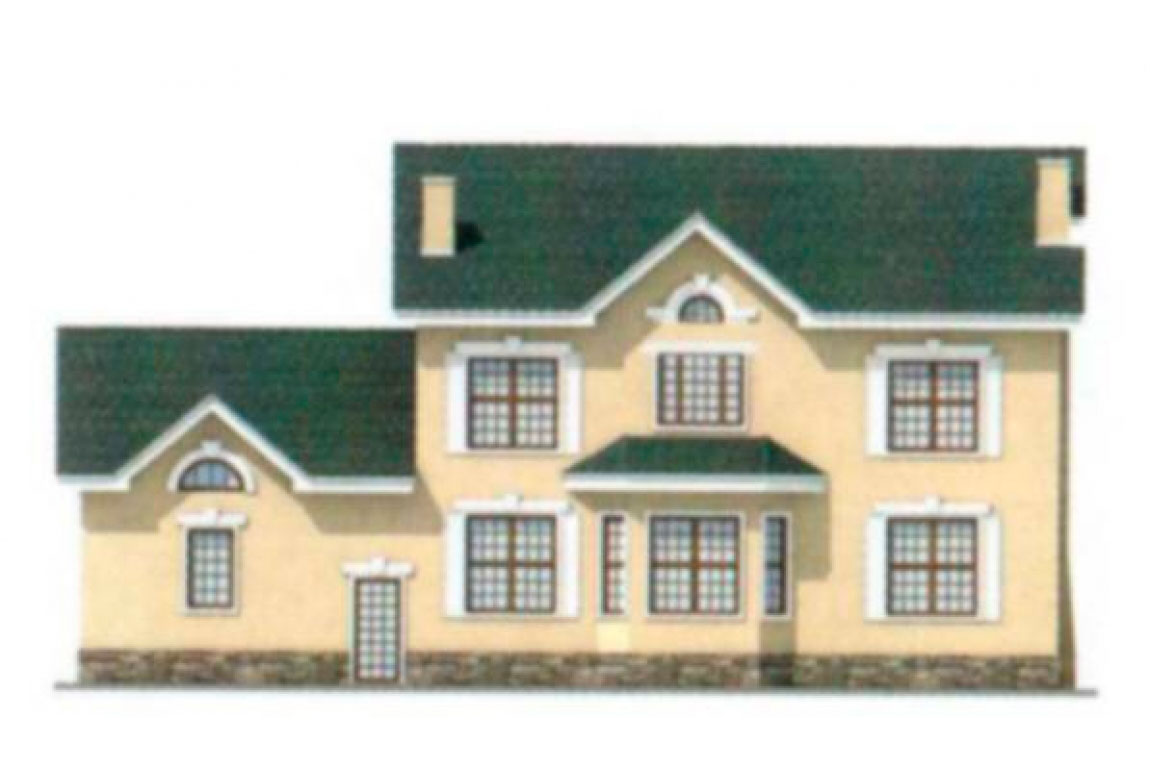 Проект дома из блоков АСД-1193 (uploads/gss/goods/193/big_3.jpg).