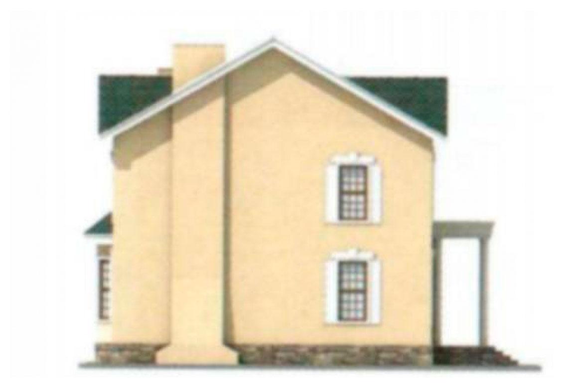 Проект дома из блоков АСД-1193 (uploads/gss/goods/193/big_4.jpg).