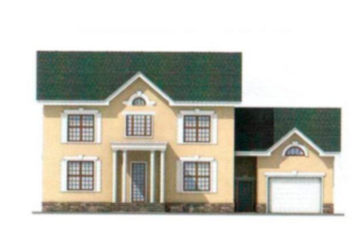 Проект дома из блоков АСД-1193 (uploads/gss/goods/193/big_5.jpg).