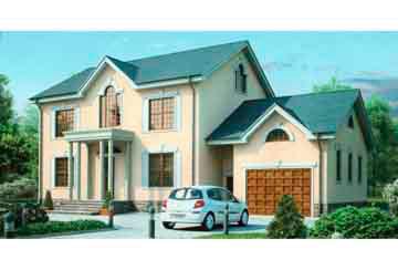 Проект дома из блоков АСД-1193