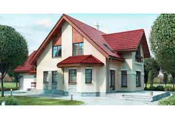 Проект дома из блоков АСД-1195
