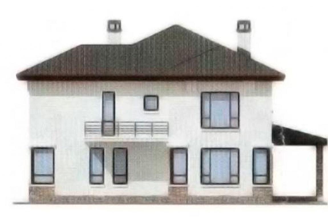 Проект дома из блоков АСД-1197 (uploads/gss/goods/197/big_4.jpg).