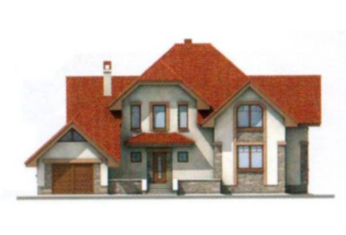 Проект дома из блоков АСД-1199 (uploads/gss/goods/199/big_5.jpg).