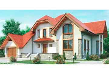 Проект дома из блоков АСД-1199