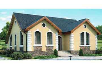 Проект кирпичного дома АСД-1002