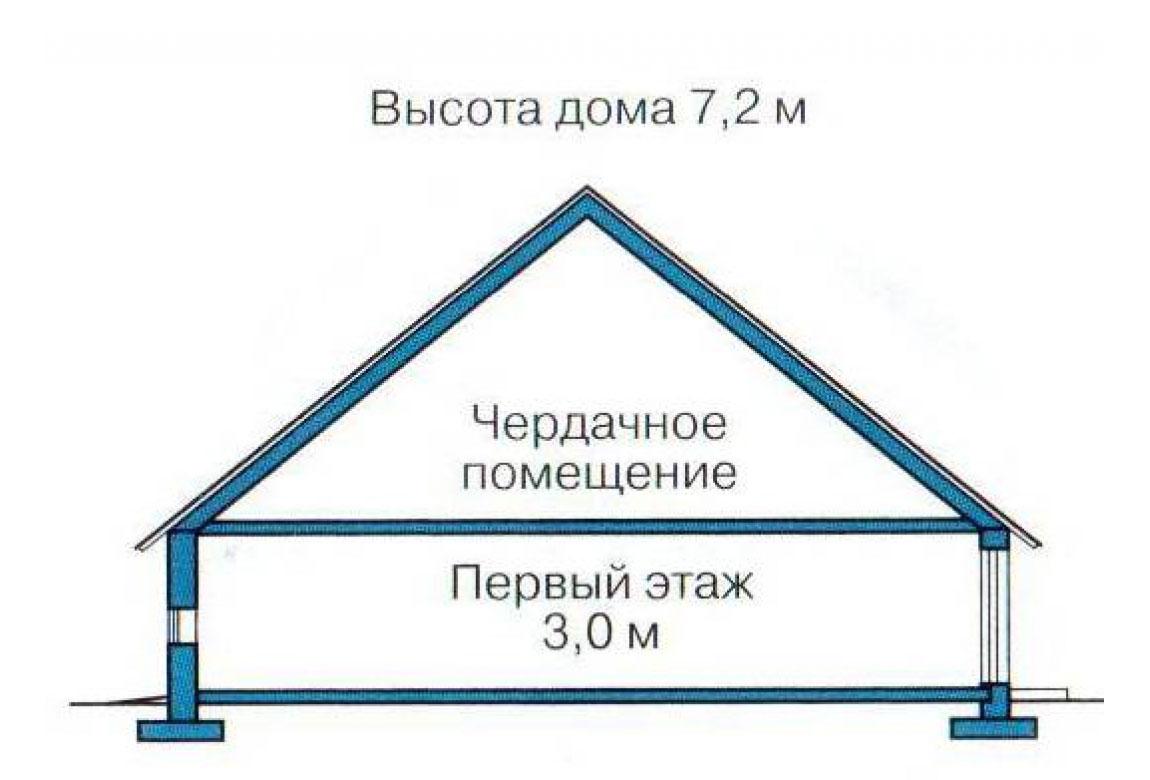 План N2 проекта кирпичного дома АСД-1002