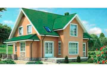 Проект кирпичного дома АСД-1020