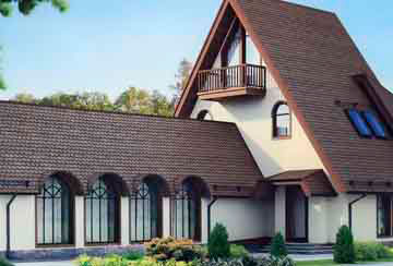Проект дома из блоков АСД-1200