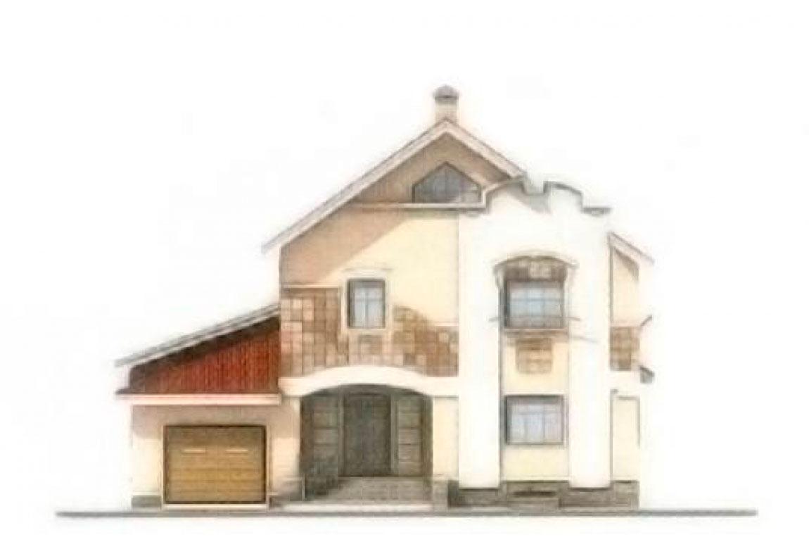 Проект дома из блоков АСД-1201 (uploads/gss/goods/201/big_5.jpg).