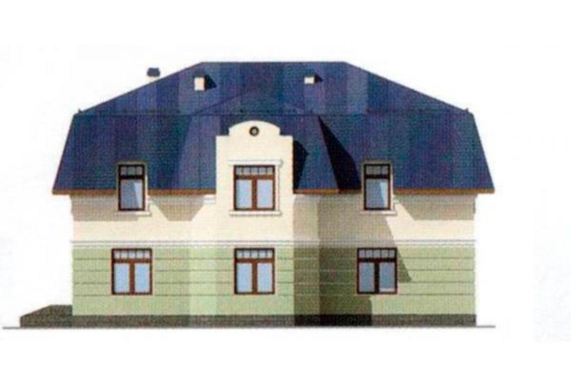 Проект дома из блоков АСД-1204 (uploads/gss/goods/204/big_3.jpg).
