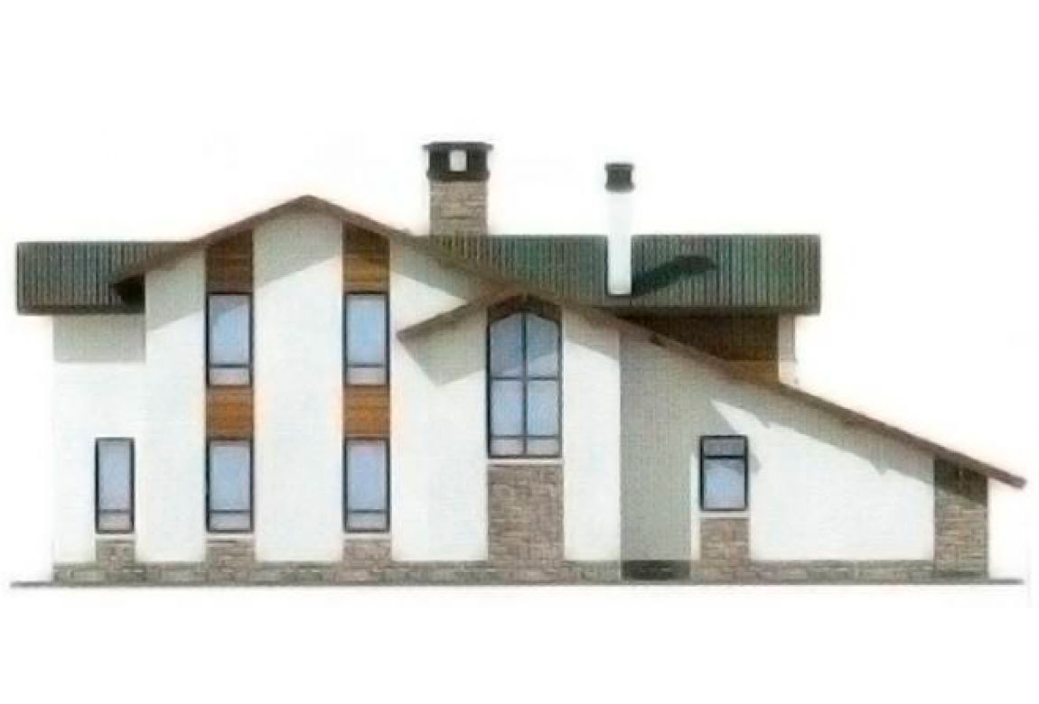Проект дома из блоков АСД-1206 (uploads/gss/goods/206/big_3.jpg).