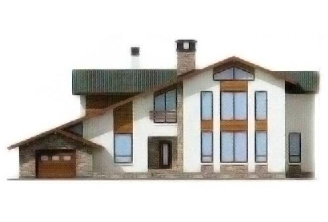 Проект дома из блоков АСД-1206 (uploads/gss/goods/206/big_5.jpg).