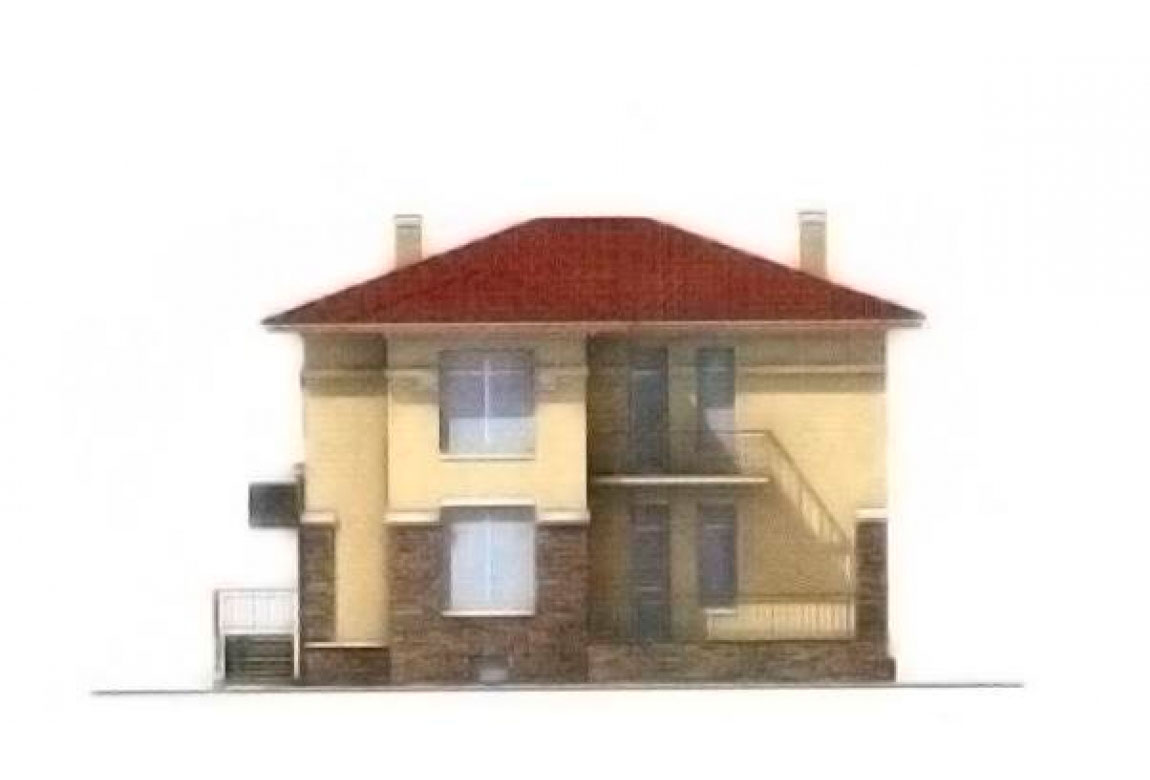 Проект дома из блоков АСД-1209 (uploads/gss/goods/209/big_5.jpg).