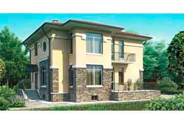 Проект дома из блоков АСД-1209