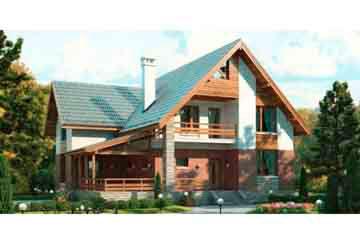 Проект кирпичного дома АСД-1021