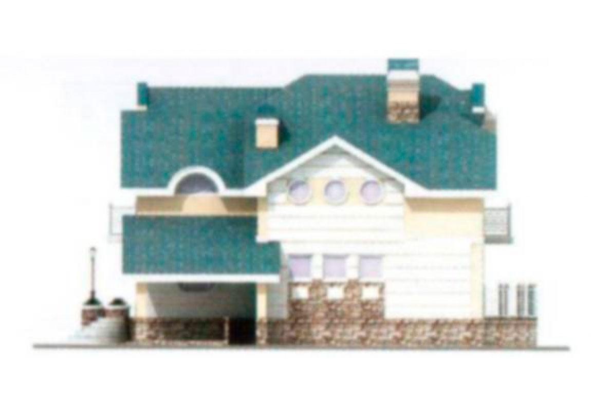 Проект дома из блоков АСД-1214 (uploads/gss/goods/214/big_2.jpg).