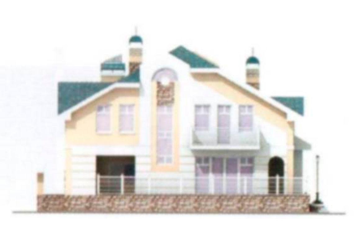 Проект дома из блоков АСД-1214 (uploads/gss/goods/214/big_3.jpg).