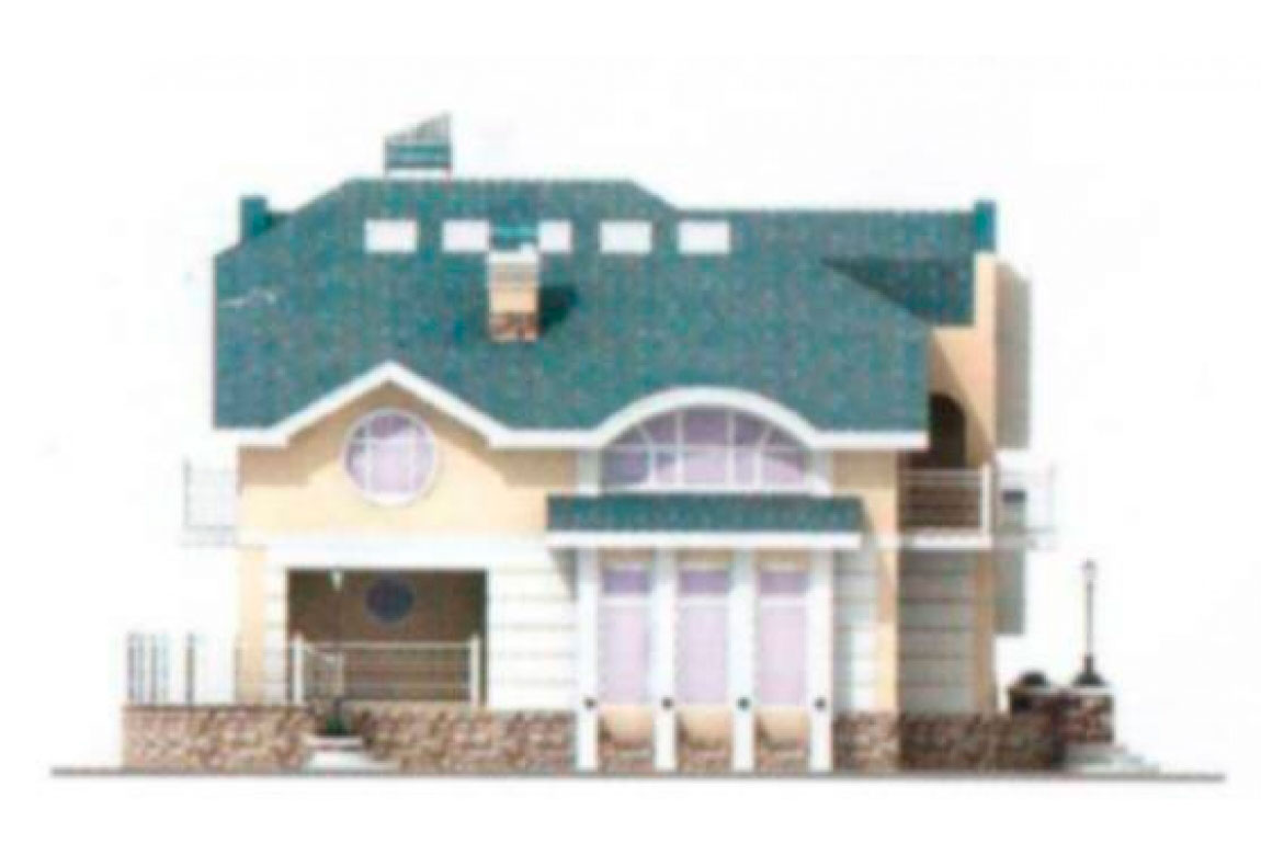 Проект дома из блоков АСД-1214 (uploads/gss/goods/214/big_4.jpg).