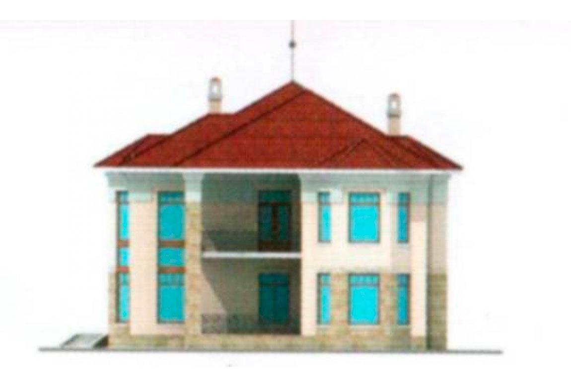 Проект дома из блоков АСД-1219 (uploads/gss/goods/219/big_2.jpg).