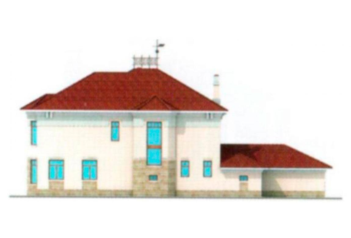 Проект дома из блоков АСД-1219 (uploads/gss/goods/219/big_3.jpg).
