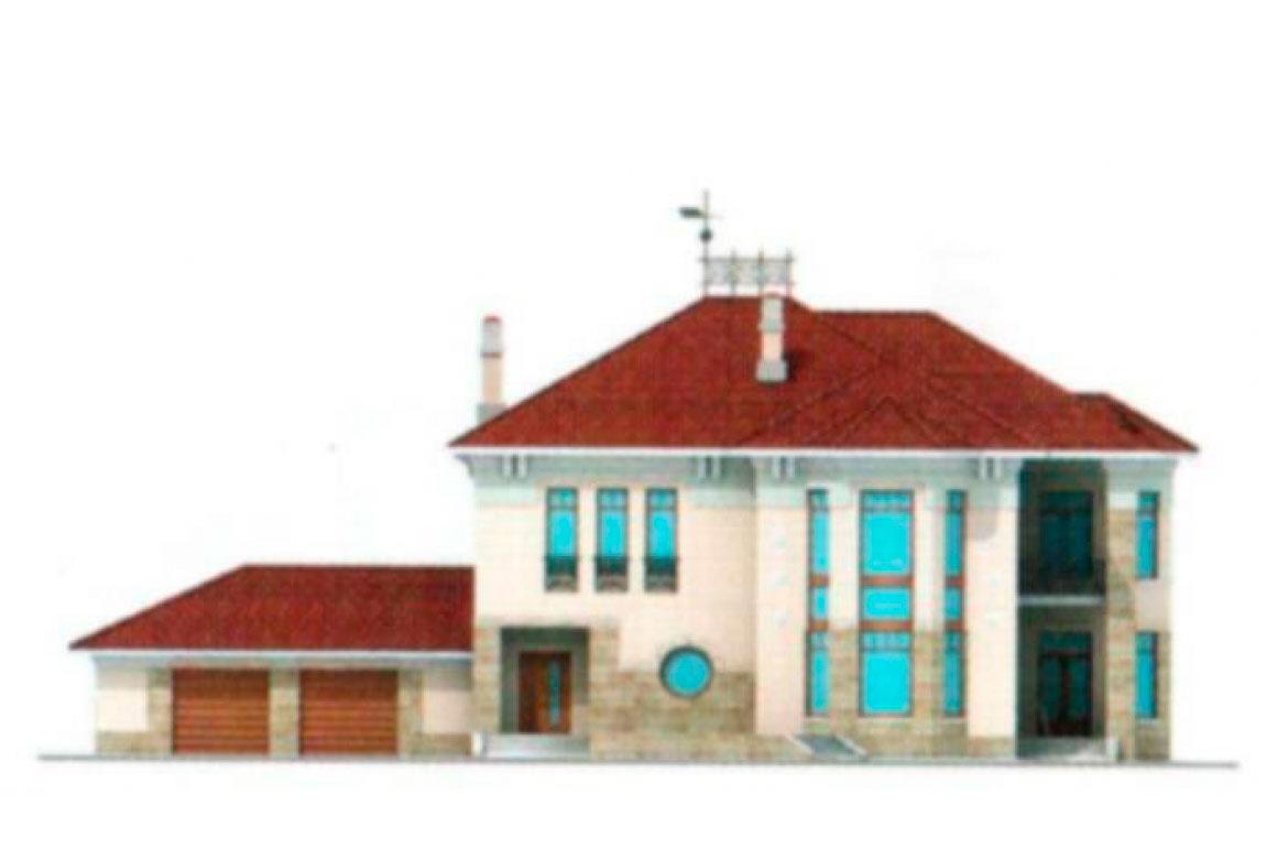 Проект дома из блоков АСД-1219 (uploads/gss/goods/219/big_5.jpg).