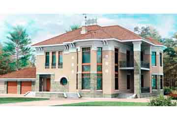 Проект дома из блоков АСД-1219