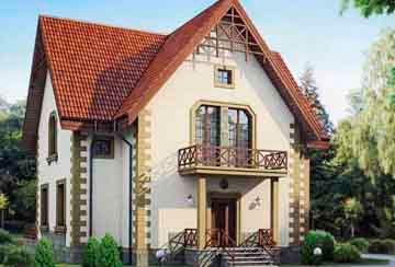 Проект кирпичного дома АСД-1022