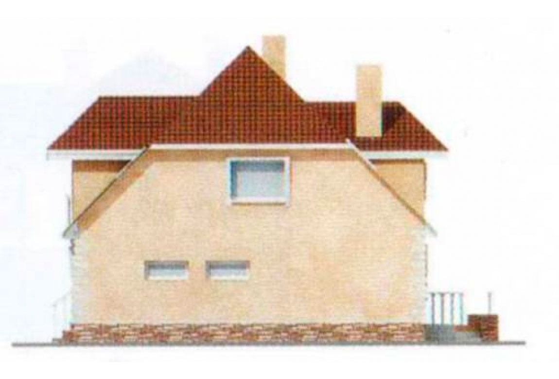 Проект дома из блоков АСД-1221 (uploads/gss/goods/221/big_2.jpg).