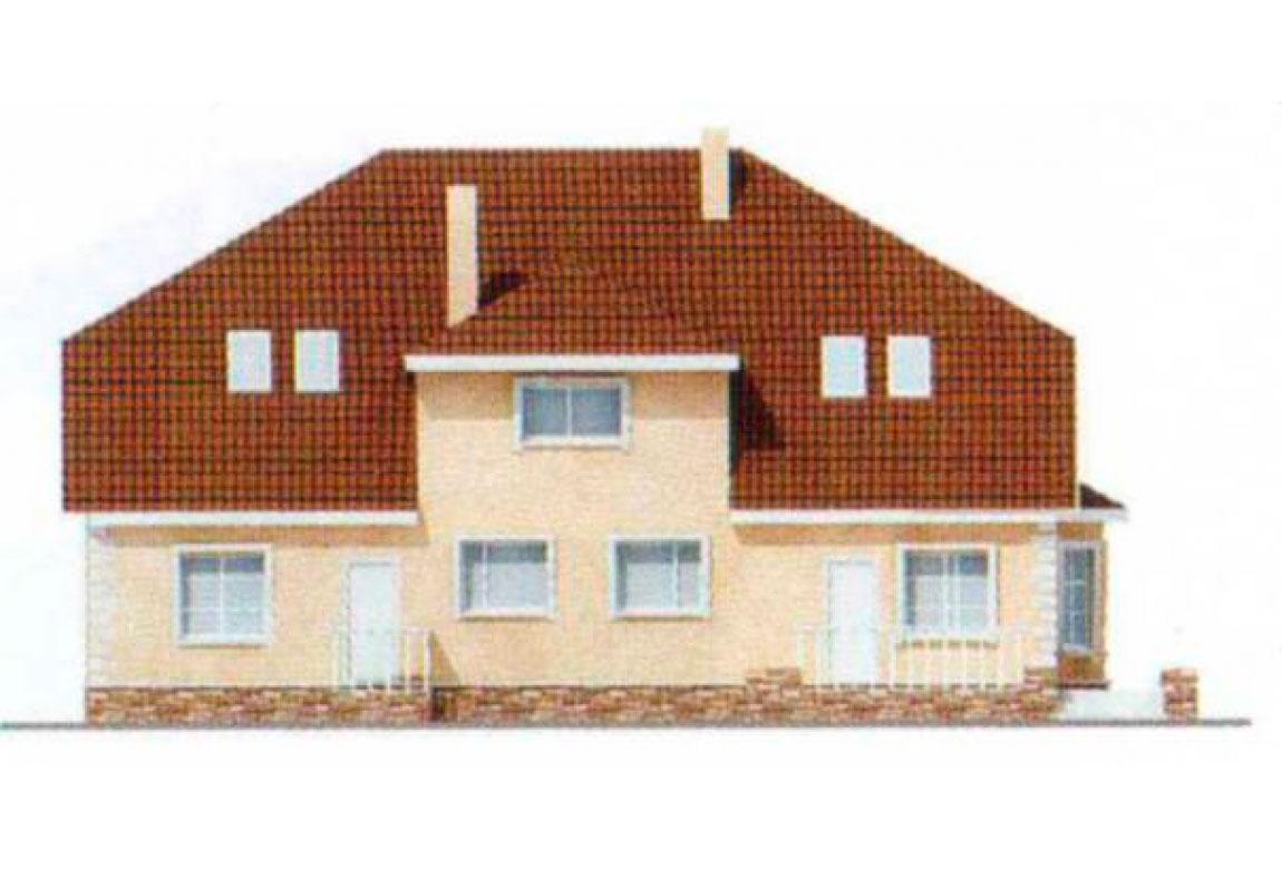 Проект дома из блоков АСД-1221 (uploads/gss/goods/221/big_3.jpg).
